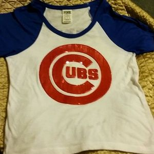 VS Secret Pink Chicago Cubs shirt. Only worn once